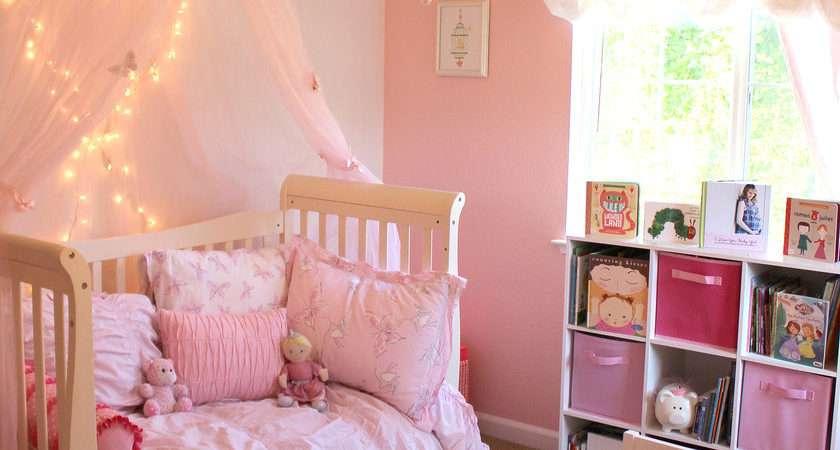 Pink Princess Butterfly Room Girls Popsugar Moms