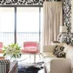 Pink Velvet Chair Eclectic Living Room Janet Rice Interiors