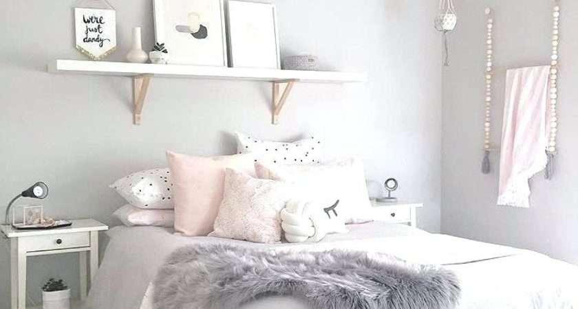 Pink White Bedroom Talentneeds