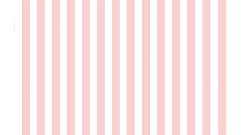 Pink White Striped