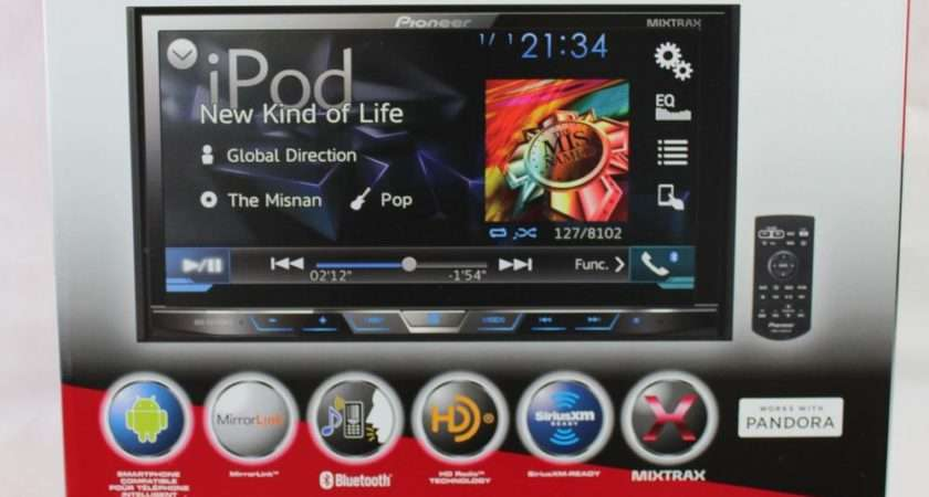 Pioneer Avh Bhs Din Dvd Bluetooth Mirrorlink Replaces