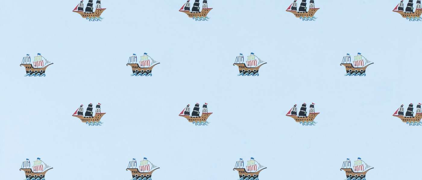 Pirate Ships Laura Ashley
