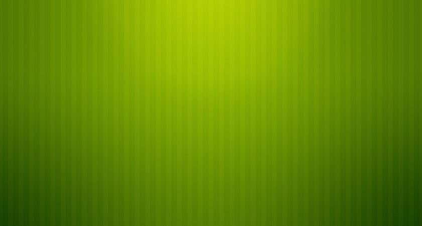 Plain Screen Green Light