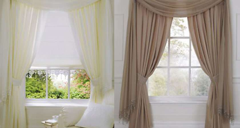 Plain Voile Modern Lined Tape Top Curtains Ivory Latte White Ebay