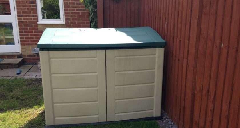 Plastic Garden Storage Box Ebay