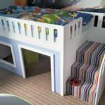 Playhouse Bed Single Bunk Beds Kids Funtime