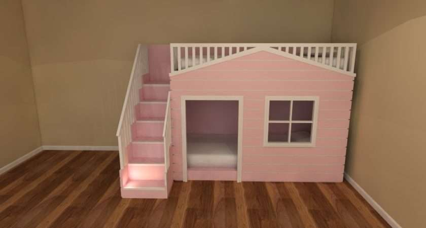 Playhouse Bunk Beds Girls Boys Bespoke Furniture