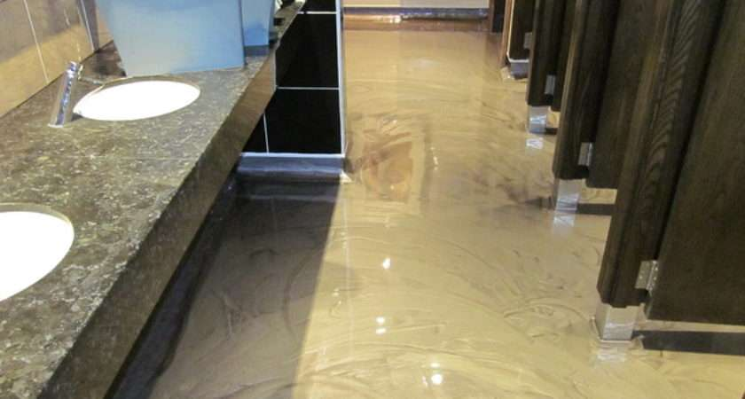Polished Concrete Floors Poured Resin Flooring