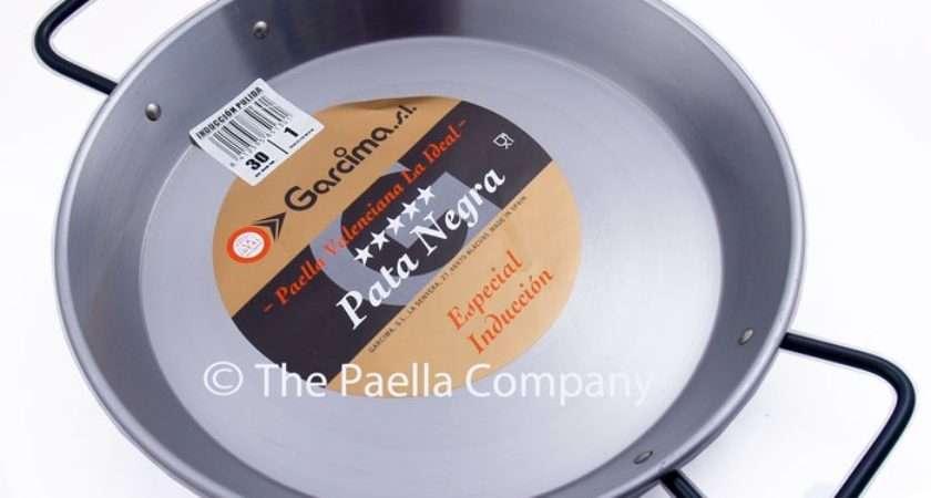 Polished Steel Paella Pan Ceramic Induction Aga Hobs