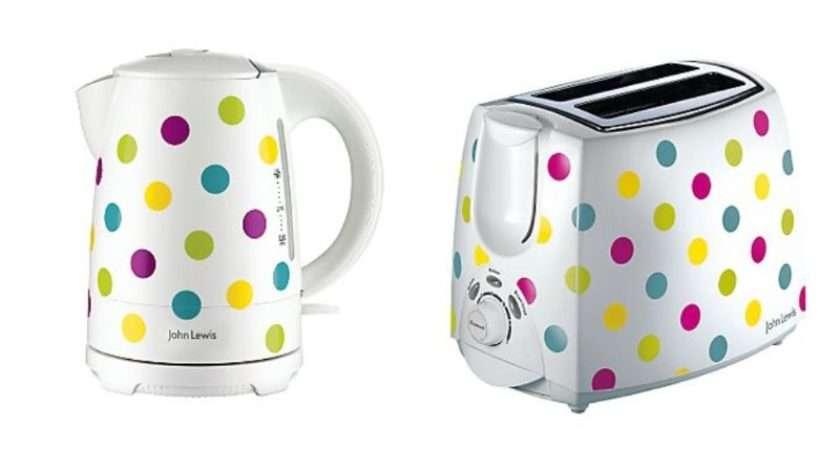 Polka Dot Kettle Toaster Set John Lewis