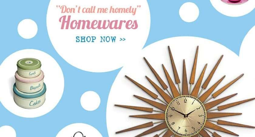 Pollydot Vintage Retro Inspired Homewares Gifts