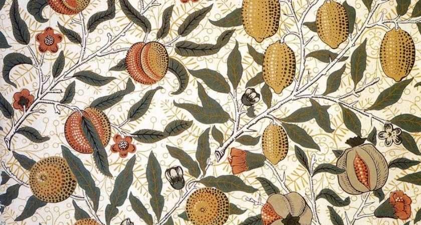 Pomegranate Design William Morris Produced