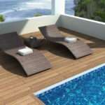 Pool Lounge Chairs Outdoor Recreational Areas Traba