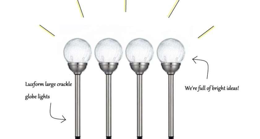 Pop These Stunning Luxform Solar Orb Lights Each One