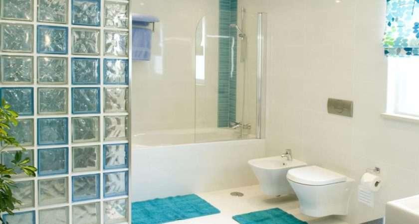 Pops Turquoise Blue Add Fun Element Bathroom