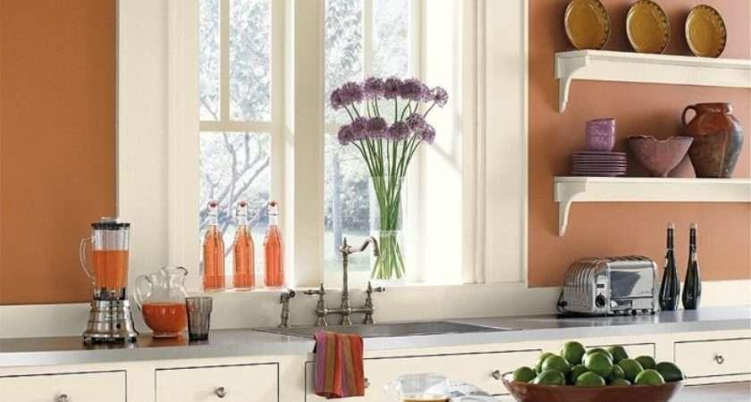 Popular Kitchen Wall Colors Design Decoration