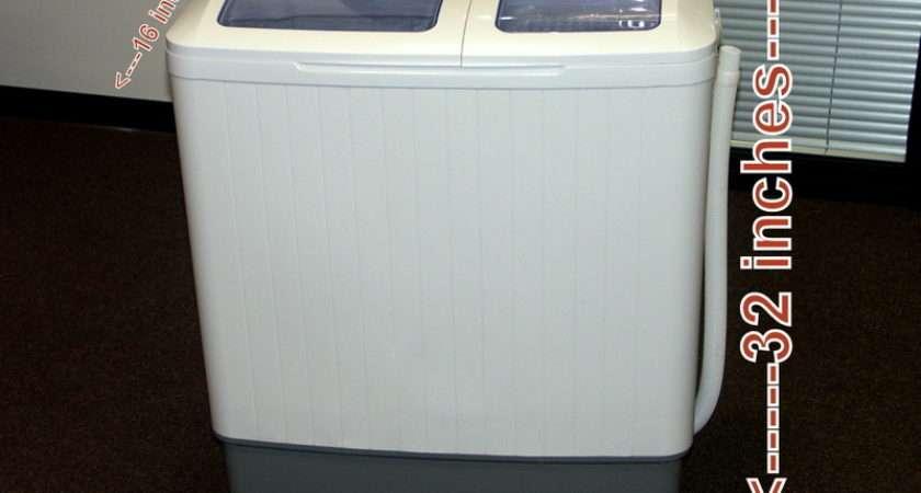 Portable Compact Twin Mini Washing Machine Spin Dryer Ebay