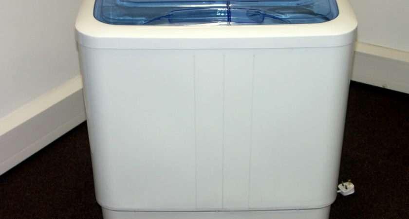 Portable Twin Tub Mini Washing Machine Spin Dryer Electric