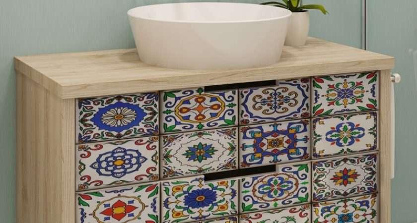 Portugal Vintage Tiles Stickers Pack Tile
