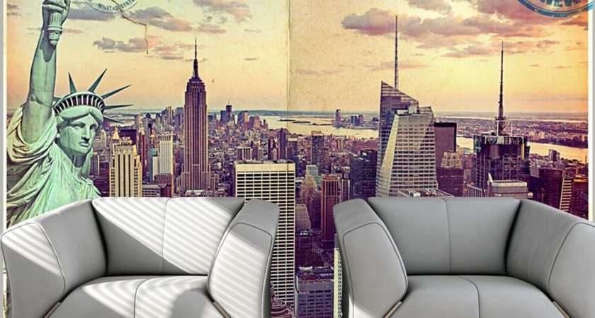 Postcard New York Murals