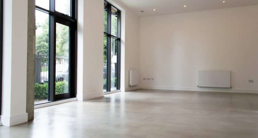 Poured Concrete Floors Residential