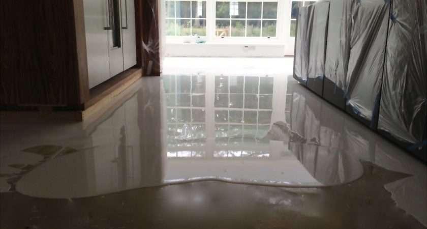 Poured Floor