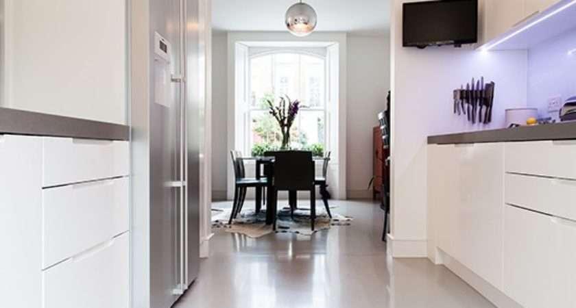 Poured Resin Floor Kitchen Flooring Ideas