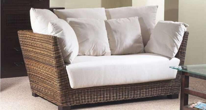 Prado Conservatory Seater Sofa Rattan Contemporary