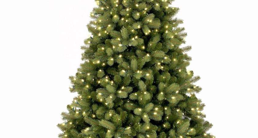 Pre Lit Bayberry Spruce Feel Real Artificial Christmas