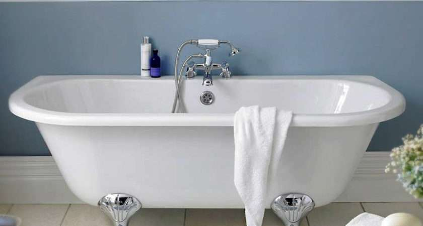 Premier Double Ended Back Wall Standing Bath
