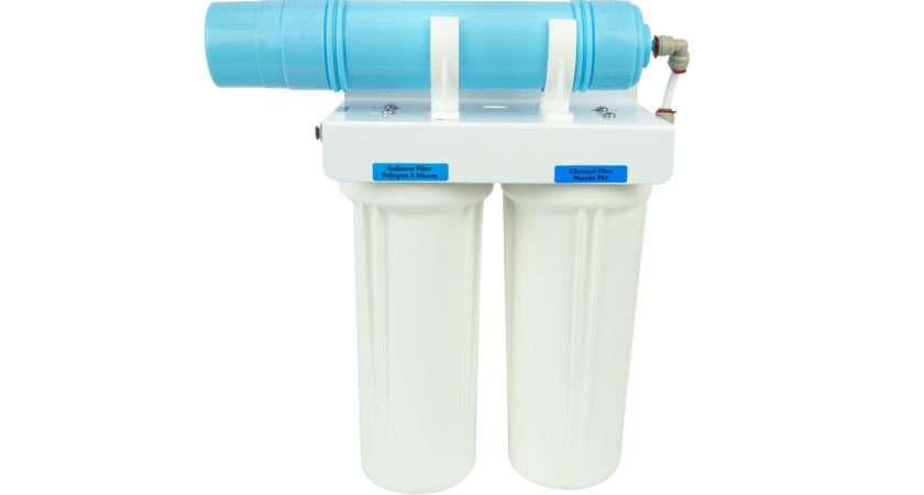 Premium Twin Under Sink Filter Alkaliser Healthy Water