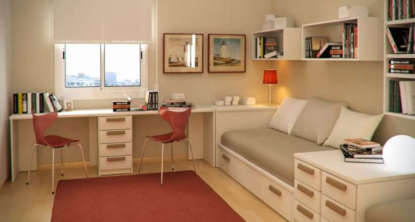 Presents Minimalist Study Room Interiors Design Model Home