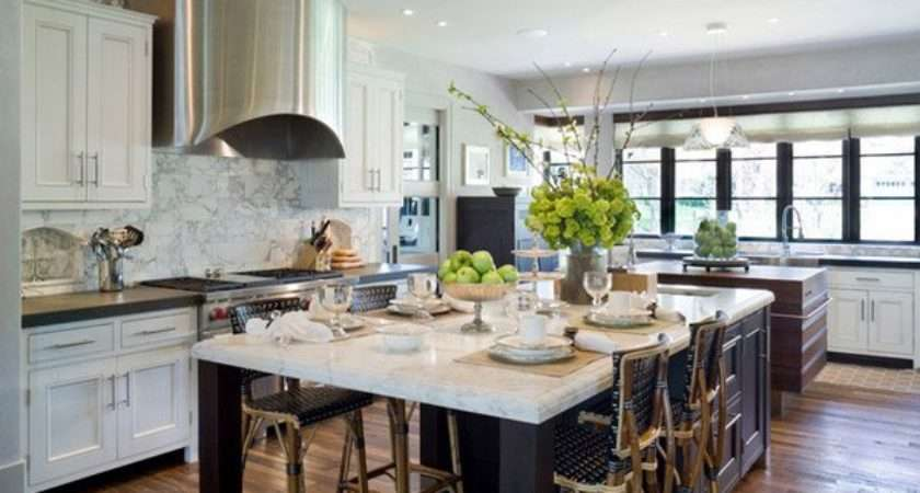 Pretty Kitchen Island Seating Home Design Lover