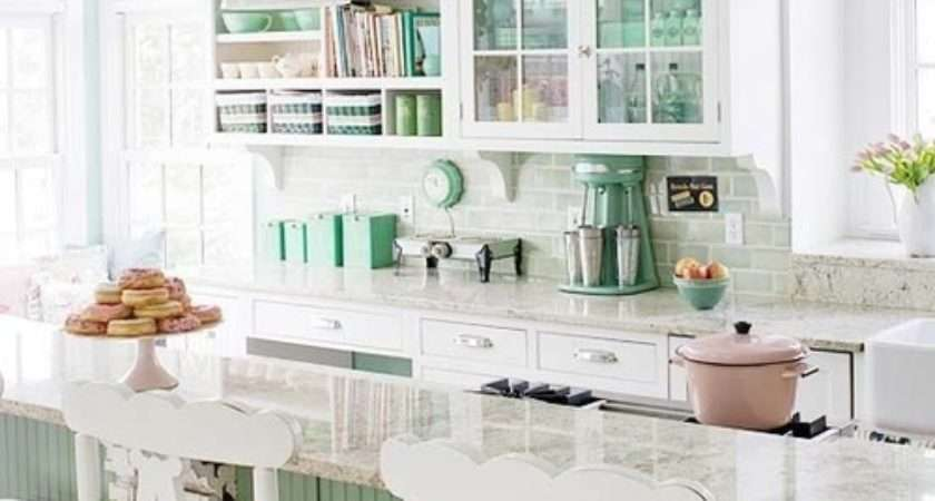 Pretty Kitchens Dreaming June
