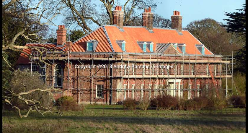 Prince William Kate Norfolk Home Building Work