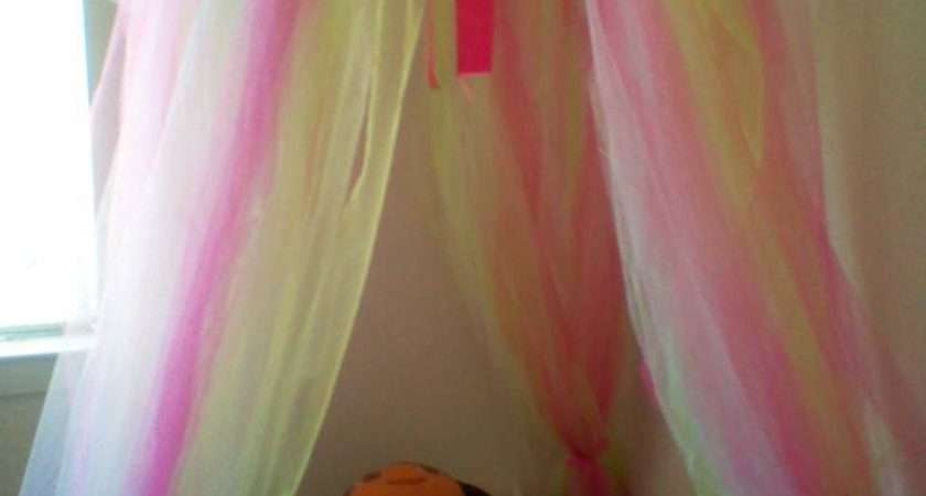 Princess Dazzle Make Tulle Bed Canopy