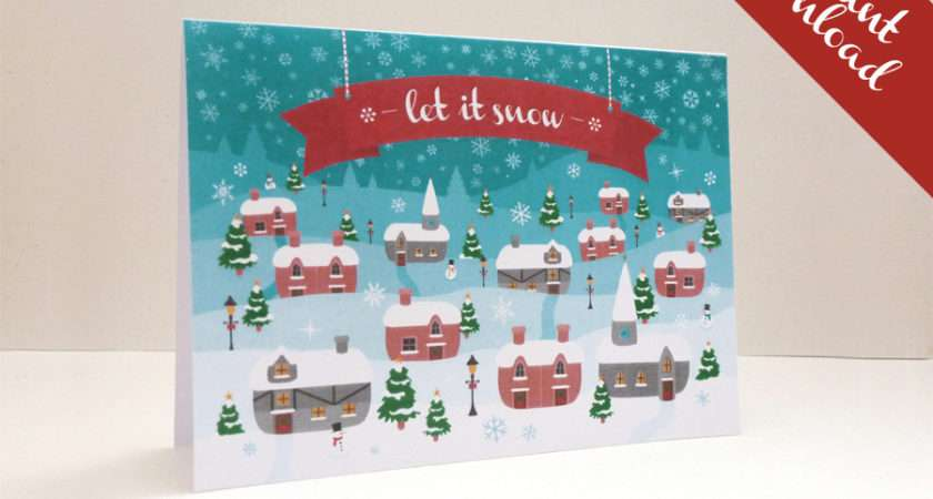 Print Your Own Christmas Cards Save Money