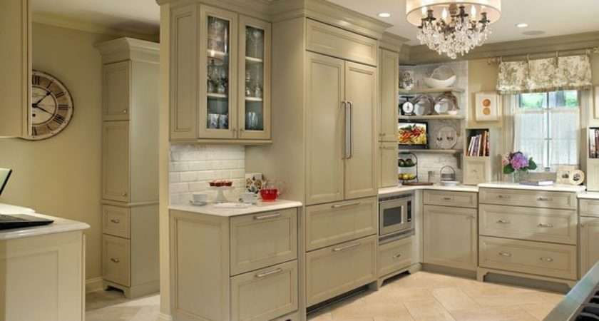 Professional Photos Published Olive Green Kitchen