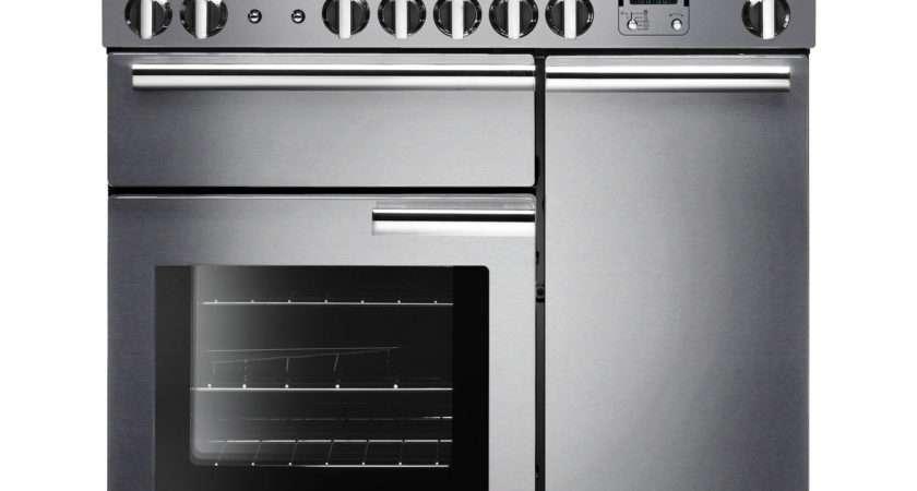 Prop Dffss Freestanding Dual Fuel Range Cooker Stainless Steel