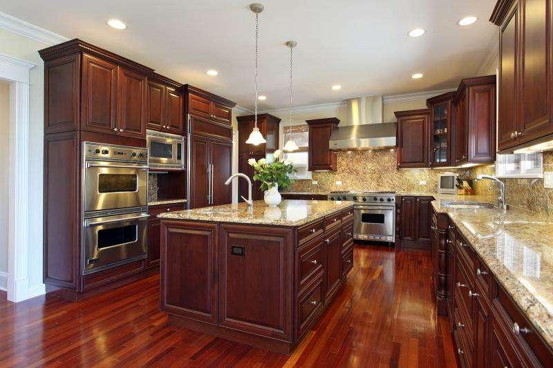 Properly Installed Wood Floors Kitchen Give Home Well