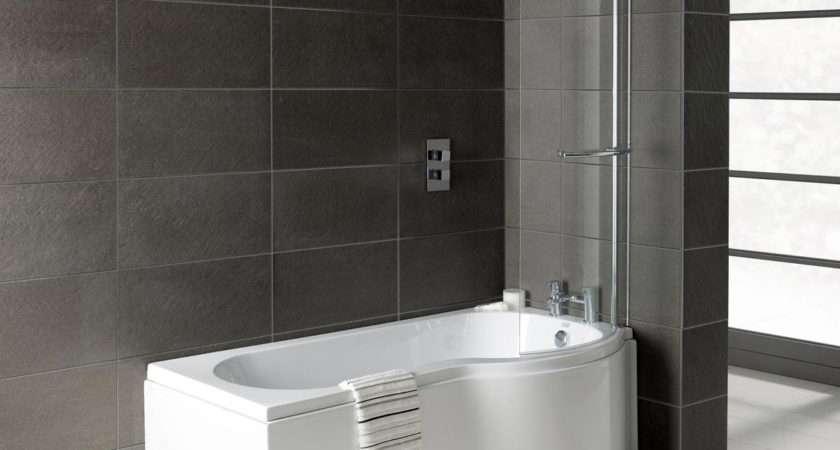 Prymo Shape Right Hand Shower Bath