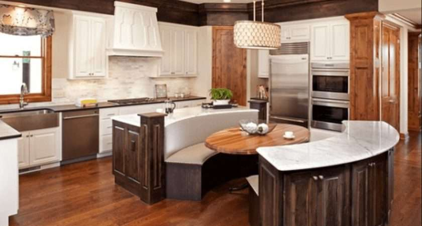 Pull Seat Kitchen Islands Melton Design Build