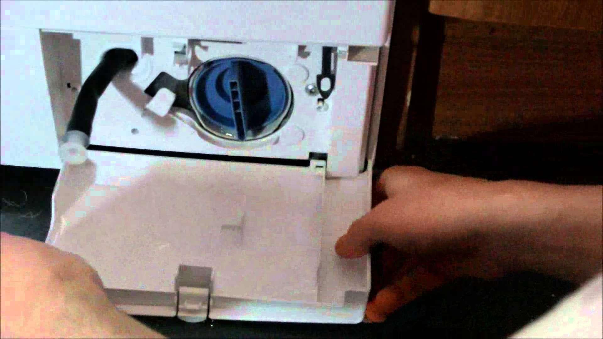 Pump Filter Coin Trap Bosch Washing Machine Youtube