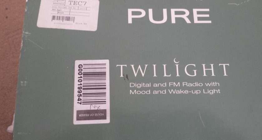 Pure Twilight Dab Radio Alarm Clock Lamp Darlaston