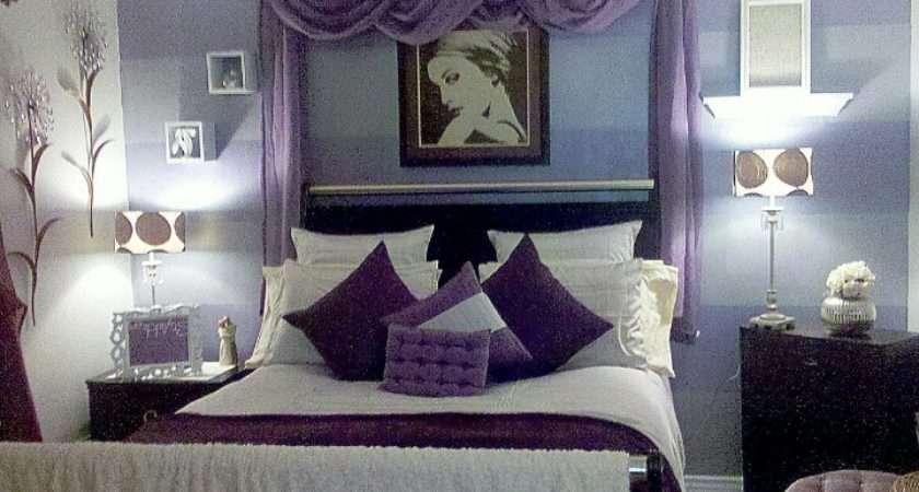 Purple Bedroom Beautiful Adult Bedrooms Pinterest