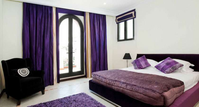 Purple Bedroom Ideas Master Adorable