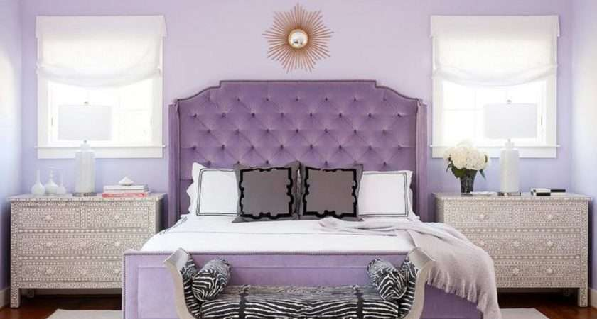 Purple Bedrooms Tips Photos Decorating