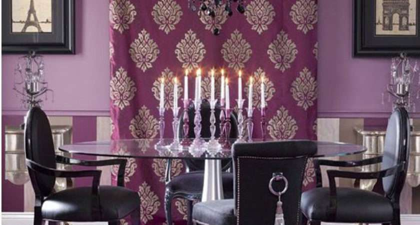 Purple Dining Room Ideas Home Design Lover