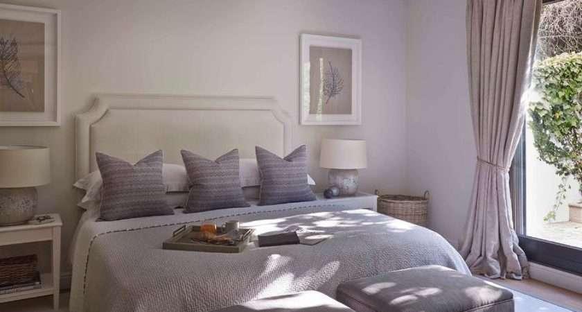 Purple Gray Bedroom Stools Foot Bed
