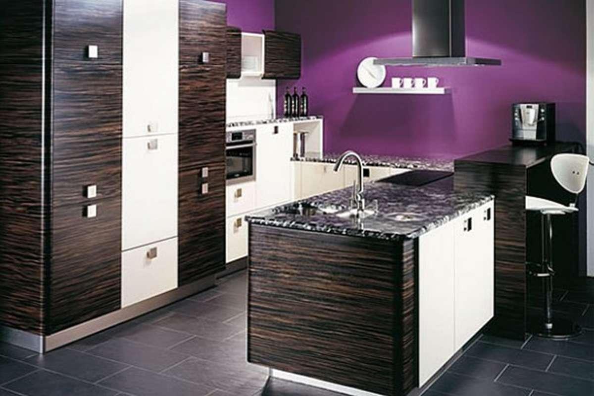 Purple Kitchen Designs One Total Modern